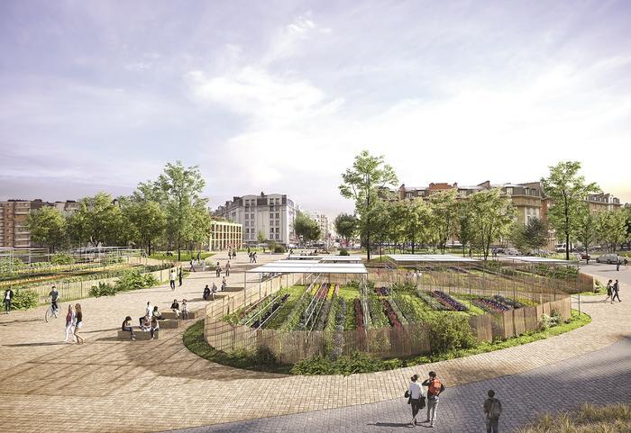 Paris 20e focus les deux projets urbains inclus dans - Les portes du hammam vendargues ...